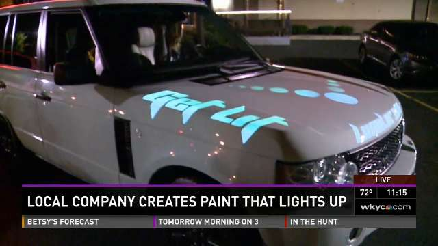 Light Based Paint Technology