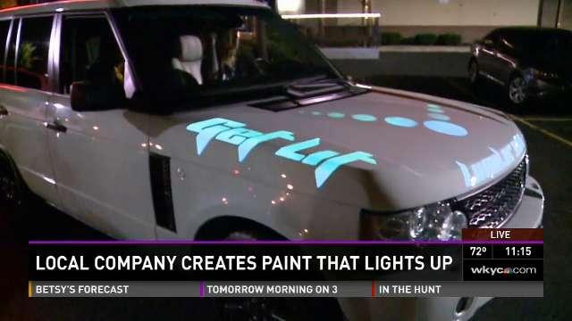 Light Based Paint Technology