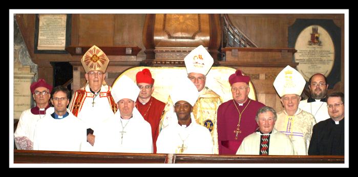 Service of Pope Paul Joesph framed