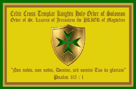 HSARORCCCC Knights Templar - Banner - 2014