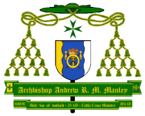 Celtic Cross Ministry Coat of Arms - Archbishop Andrew R. M. Manley