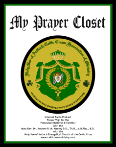 BTRHSACCRN - Official Seal of HSACCFM - 2015 - My Prayer Closet