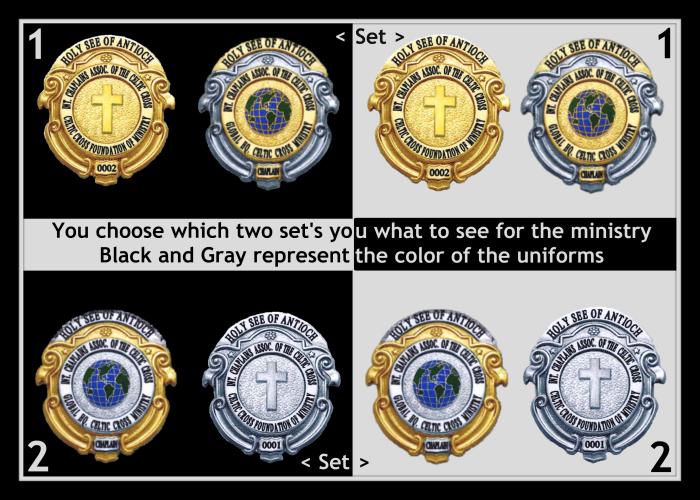 Badge Contest Display Board